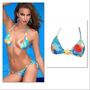 2 for $20 💕 Luli Fama Sea Star Mermaid Bikini Top